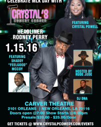PRESS RELEASE: Celebrity Charity Comedy Show Helps Revive New Orleans Post Katrina
