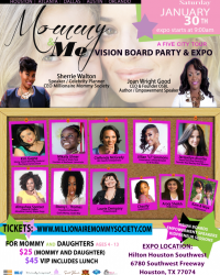 PRESS RELEASE: Mommy & Me Vision Board Party & Expo Tour Kicks Off in Houston