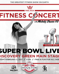 Feel Rich Kicks Off National Fitness Movement at Super Bowl Live