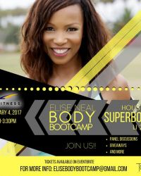 Actress Elise Neal Launches Fitness Boot Camp in Houston during Super Bowl LI